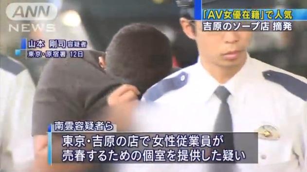 東京・吉原のソープ店摘発003