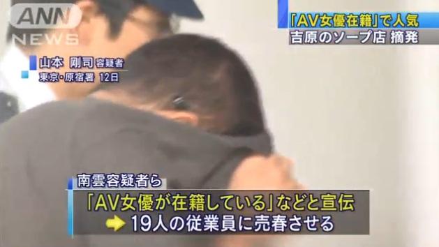 東京・吉原のソープ店摘発004