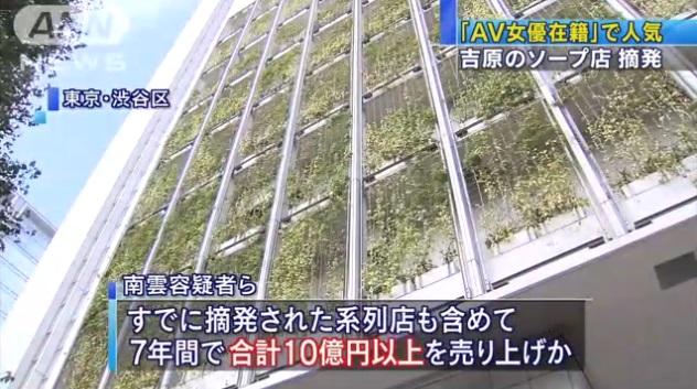 東京・吉原のソープ店摘発005
