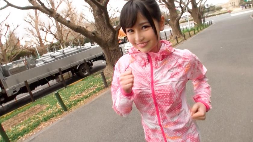 ジョギングナンパ 06 りさ 19歳 グラビアアイドル