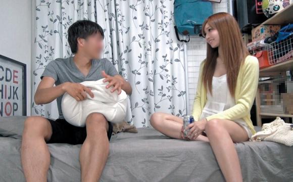 【エロ動画】自宅に招き入れたスレンダー美女が自分の男根で悶えるとかヤバいわwww01_2016090606015595d.png