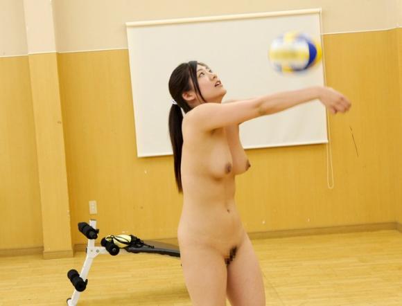 【エロ動画】むっちりボディの現役バレーボール選手がAVデビュー!01_201609121417413e8.png