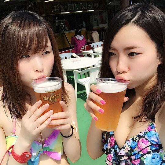 東京サマーランドに行くのがワクワクする素人の水着キャピキャピ画像wwwwwww【画像30枚】02_2017090202115822f.jpg