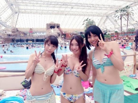 東京サマーランドに行くのがワクワクする素人の水着キャピキャピ画像wwwwwww【画像30枚】25_2017090202143614f.jpg