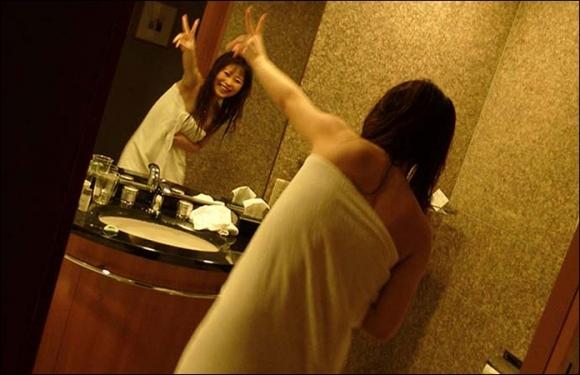 【流出画像】ラブホでシャワー浴びたての彼女を撮った画像がザワつくレベルにエロいwwwwwww【画像30枚】26_20170812015946720.jpg
