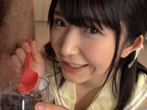 僕にしか見えない痴女霊の浅田結梨ちゃんがザーメン欲しいとオナ&セックスで白濁液を求める変態プレイ