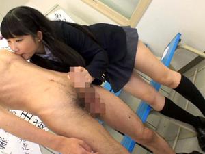 【宮崎あや】制服美少女にチンポとアナルを舐めまわされスゴイ淫語で責められちゃいます!
