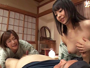 紗倉まな&佳苗るかがモテナイ男子のために人肌脱ぐどころか3Pセックスしてます!