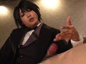 男装ドS執事のお仕置き!友田彩也香