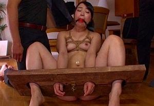 【皆野あい】 美女の手足をがっちし固定してヤリたい放題犯す 【tube8】