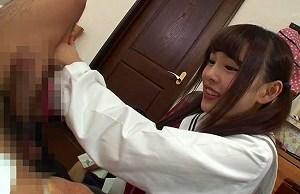 【跡美しゅり】 真面目な家庭教師を誘惑、無理やりエッチをしようとする女子校生 【tube8】