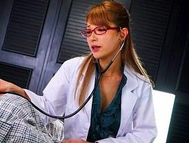 【ティア】 ハーフ女医がいやらしい音をたてながらフェラ抜き 【tube8】