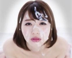 【初美沙希】 美女の可愛い顔を特濃ザーメンでドロドロにするぶっかけセックス! 【tube8】