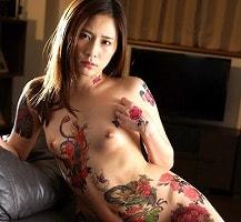 【花咲いあん】 借金のせいで全員に入れ墨を入れられた女性のご奉仕セックス 【tube8】
