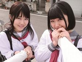 【浅田結梨/涼海みさ】 兄のことが大好きな可愛い妹2人とイチャラブ近親〇姦 【tube8】