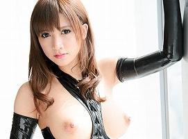 【サリー】 ボンテージコスチュームで絶頂中出しセックスを魅せる巨乳美女 【tube8】