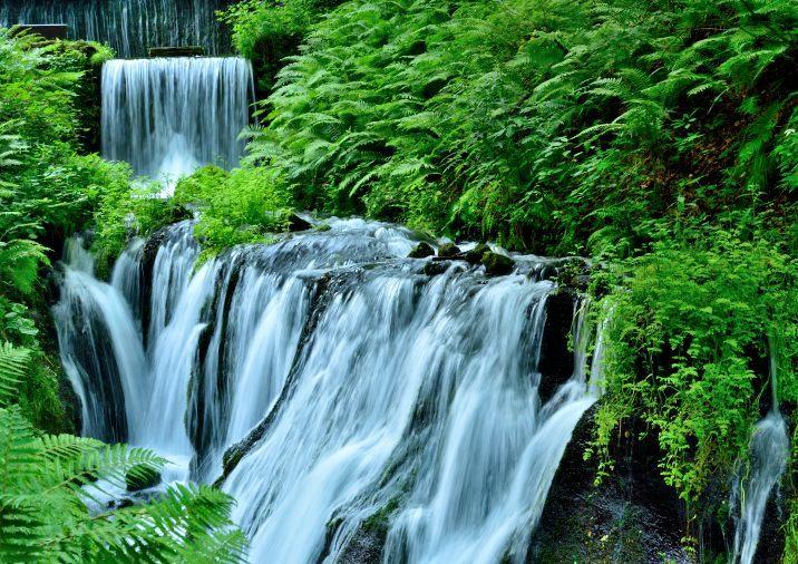 白糸の滝 下