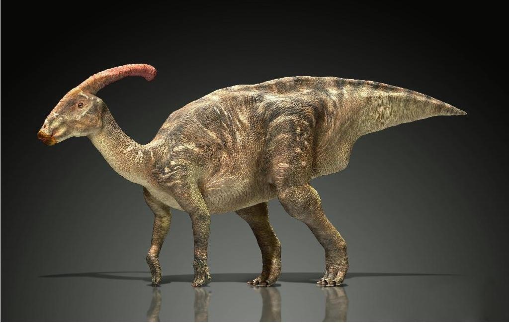 ハドロサウルス復元CG