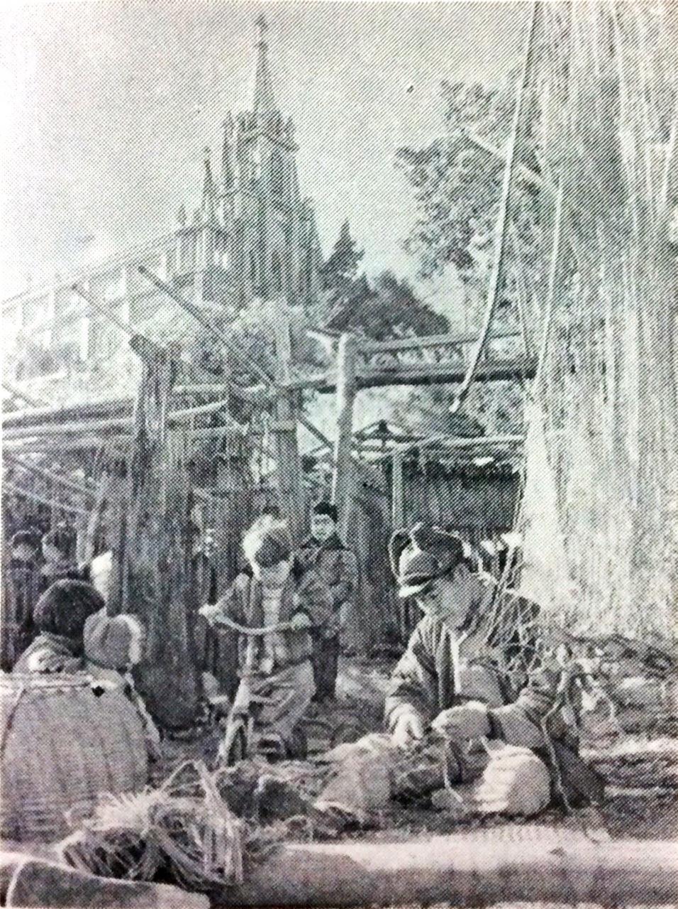 伊王島古写真 馬込教会