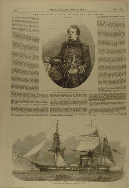 perry the illustrated london news oct 22 1853
