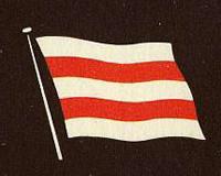 日本郵政社の旗