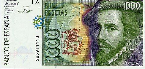 コルテス紙幣