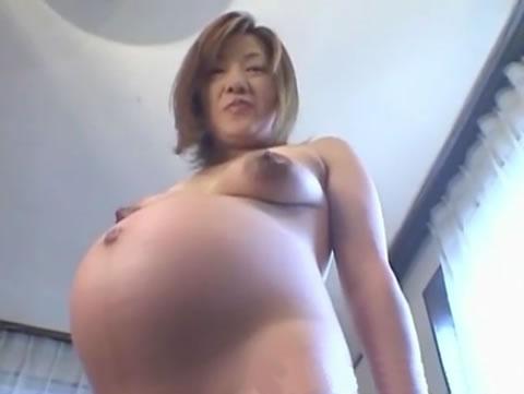 美人妊婦さんの美しい身体を堪能!