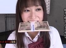 【フェラ】大沢美加出演の動画。大沢美加 長チンで奥迄突かれても咥えた60万円を落とさなかったら賞金獲得