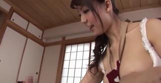 橘優花の授乳手コキ