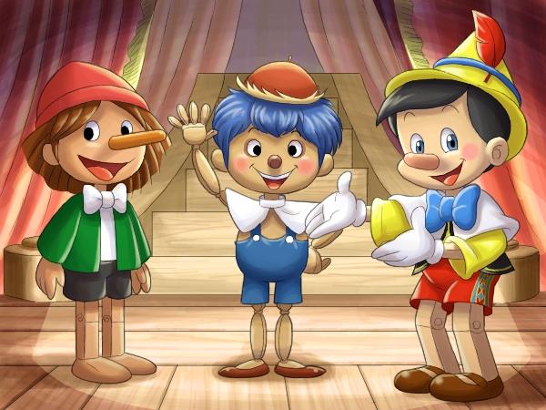 三体のピノキオ