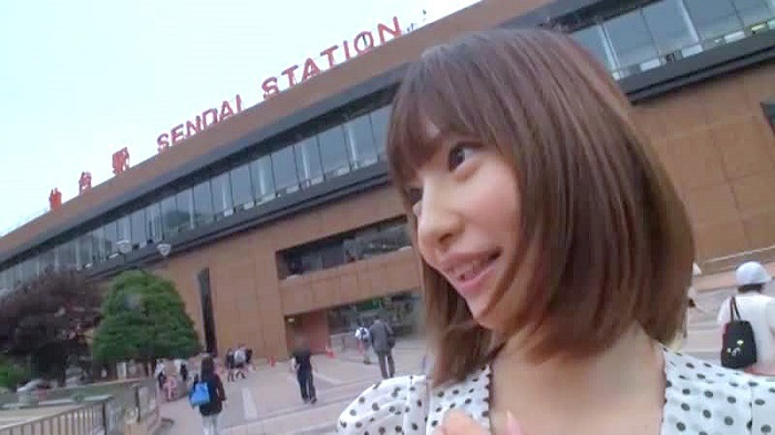 【お姉さん・美人】スレンダーの美女のハメ撮り動画。仙台駅前でスレンダー美女に声を掛けて観光案内を頼みつつハメ撮り!