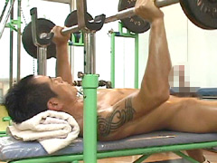 【ゲイスポーツ】全裸スポーツジム ~筋肉と勃起~ 50分~60分