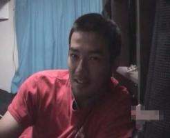 【ゲイのオナニー動画】現役ノンケのスポーツマンがドヤ顔でオナニー披露!