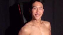 【ゲイ動画】100点満点な体型を持つマッチョイケメンのデカマラを目が虚ろになるまでシャブリ倒すw