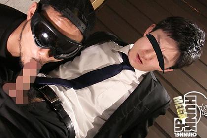 あの既婚リーマンが男のケツを掘らされた!敏感チンポで連続射精?