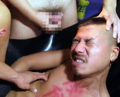 """【ゲイ動画 xvideos】史上初!77人の男の肉便器となった男""""てつまる""""の肛門伝説!!"""