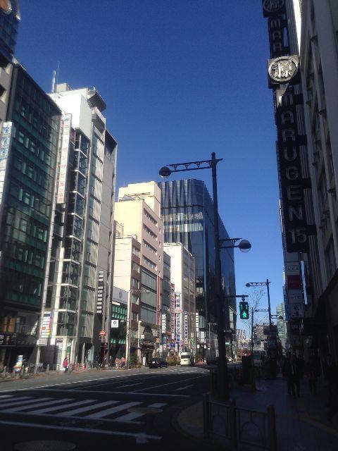 2月8日の銀座・新橋お天気情報
