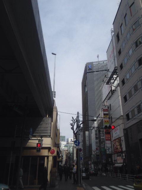 2月10日の銀座・新橋お天気情報
