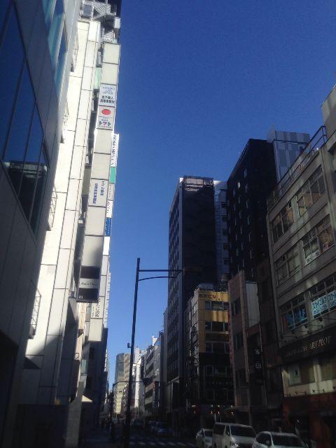 2月15日の銀座・新橋お天気情報