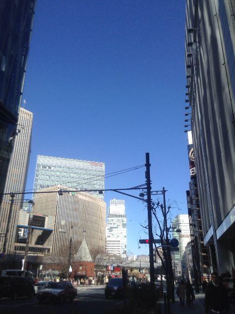 2月16日の銀座・新橋お天気情報