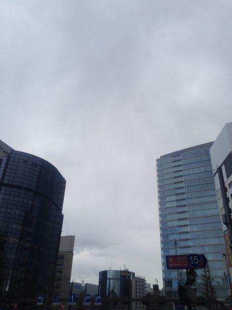 2月20日の銀座・新橋お天気情報