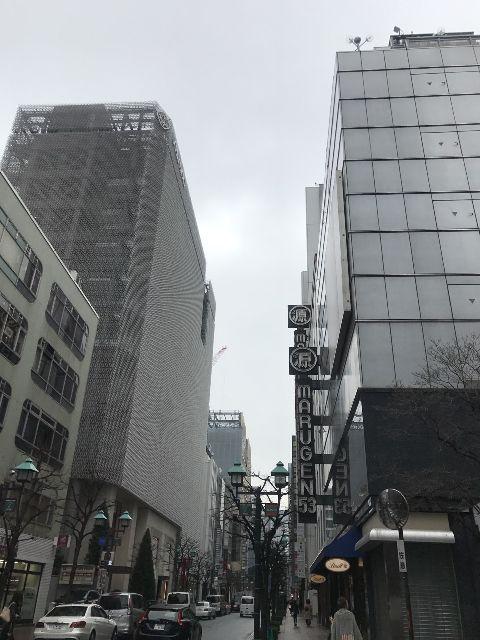 2月27日の銀座・新橋お天気情報