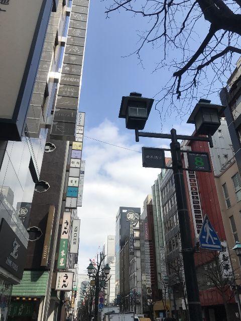 2月28日の銀座・新橋お天気情報