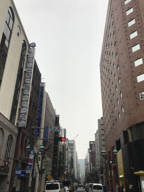 3月6日の銀座・新橋お天気情報