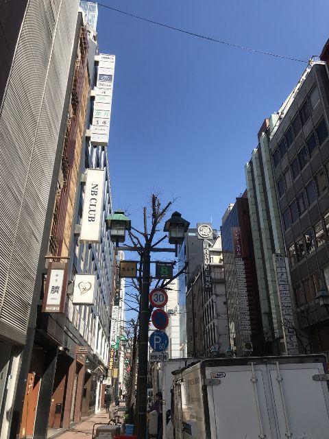 3月8日の銀座・新橋お天気情報