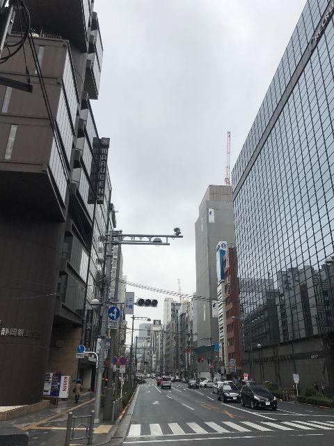 3月14日の銀座・新橋お天気情報