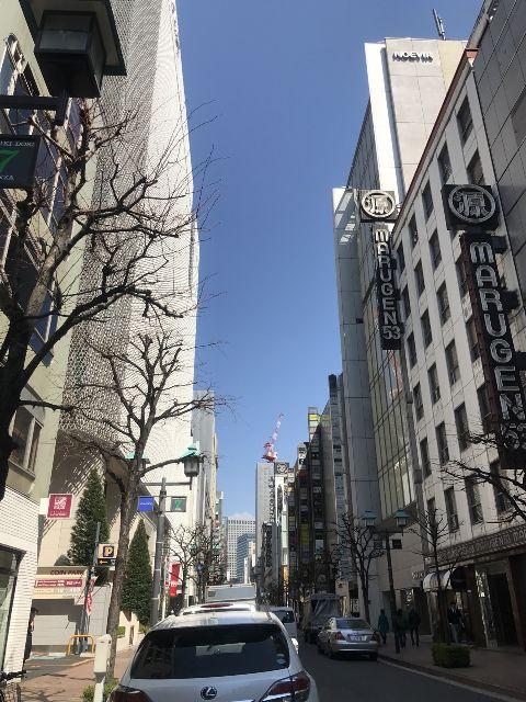 3月22日の銀座・新橋お天気情報