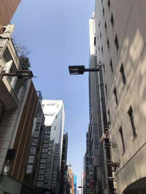 4月5日の銀座・新橋お天気情報