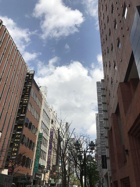 4月6日の銀座・新橋お天気情報