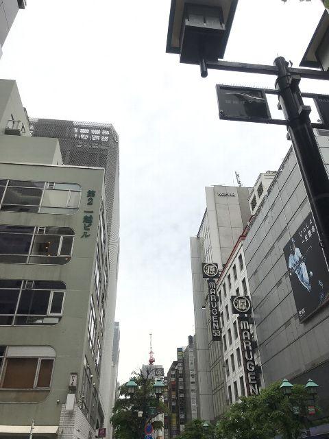 4月17日の銀座・新橋お天気情報